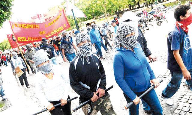Une manifestation du MOVADEF