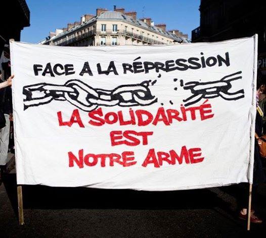 Banderole solidaire