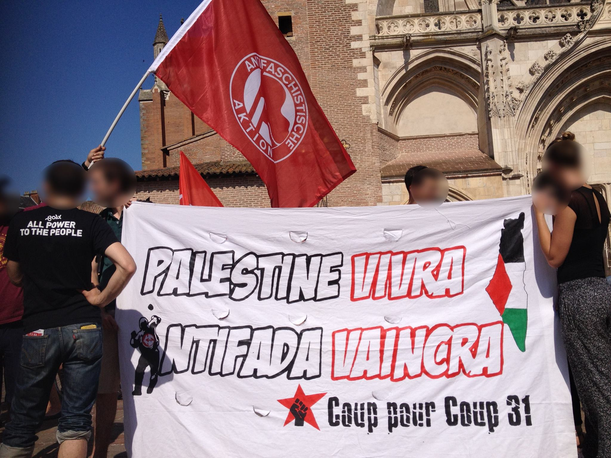 Manifestation à Toulouse