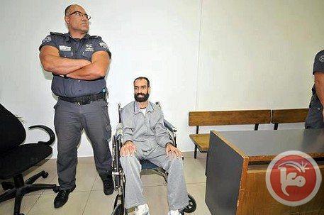 Samer Issawi après sa grève de la faim en 2012