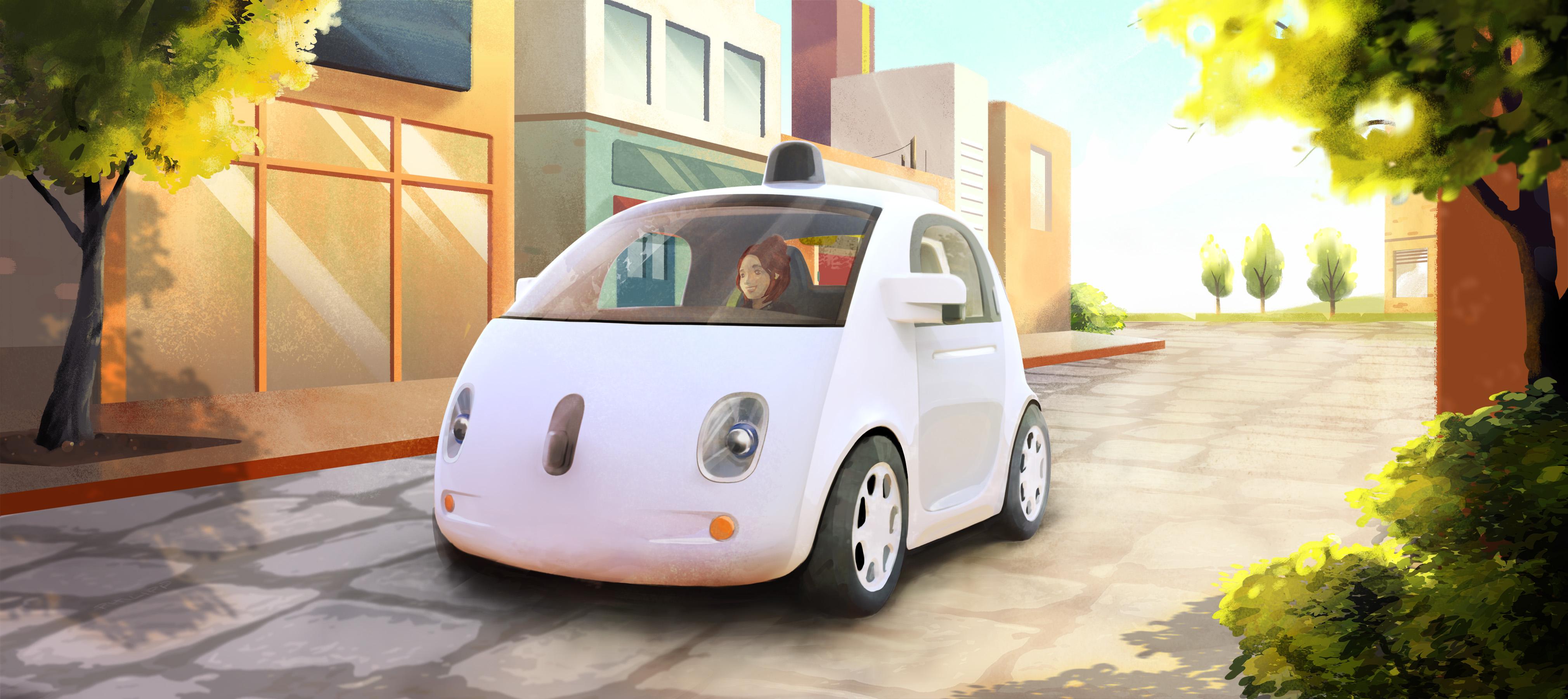 La voiture sans chauffeur de Google