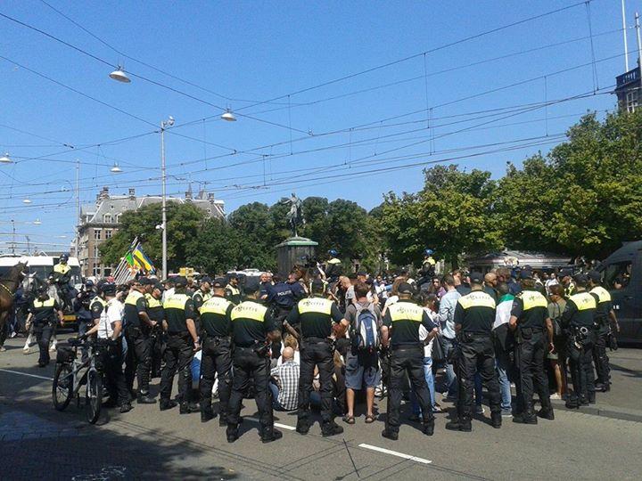 Arrestations à La Hague