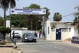 La caserne située sur l'avenue Faidherbe, à Dakar