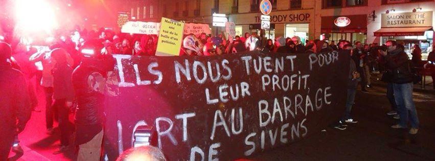Manifestation du 29 octobre à Paris