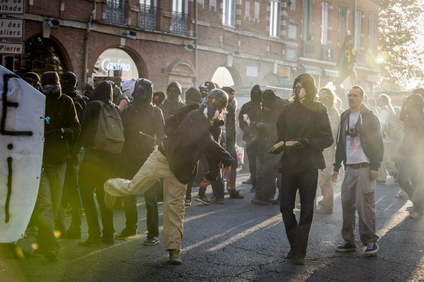 La manifestation du premier novembre à Toulouse
