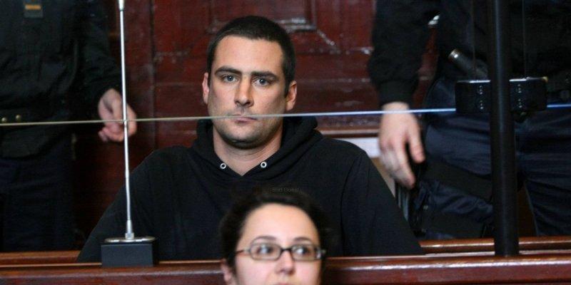 Damien Camelio à son procès