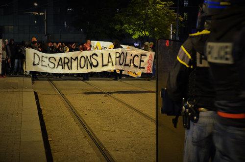 Manifestation à Lyon le 6 novembre.