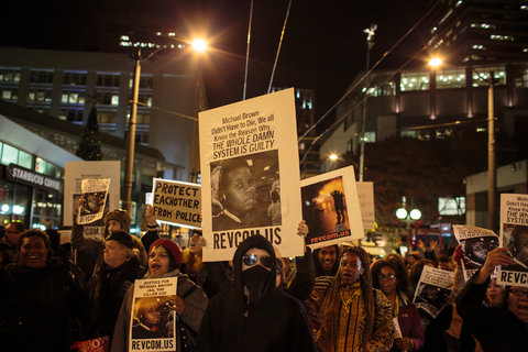 Manifestation à Seattle