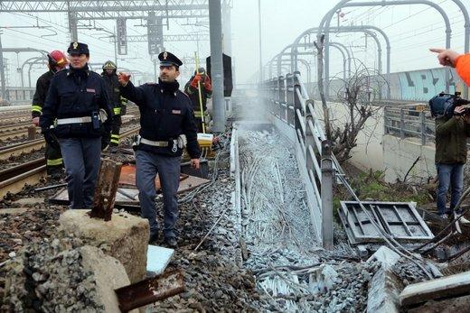 Le sabotage de la ligne Bologne-Milan