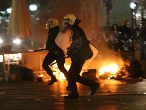 Affrontements du 6 décembre 2014 à Athènes