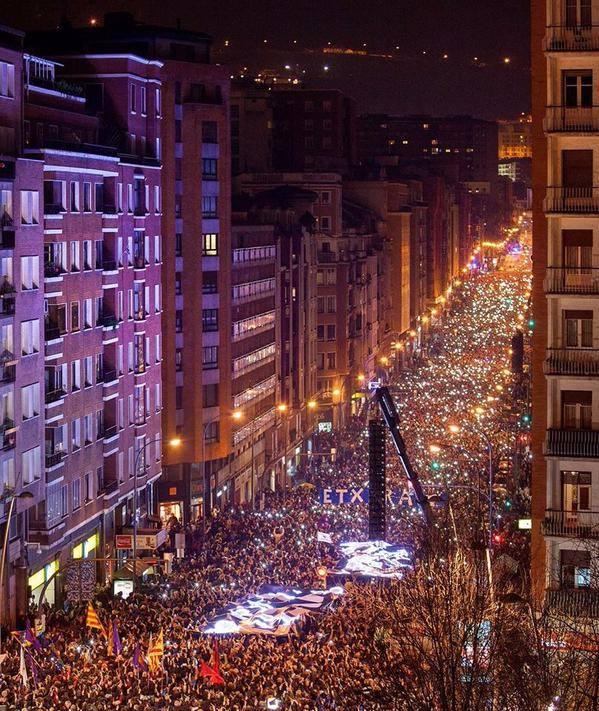 Le 10 janvier 2015 à Bilbao.
