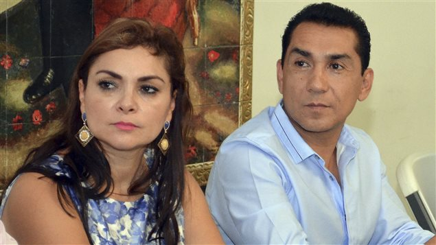 José Luis Abarca et son épouse