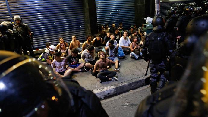 Manifestants arrêtés le 9 janvier