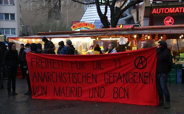 Manifestation de solidarité à Berlin.