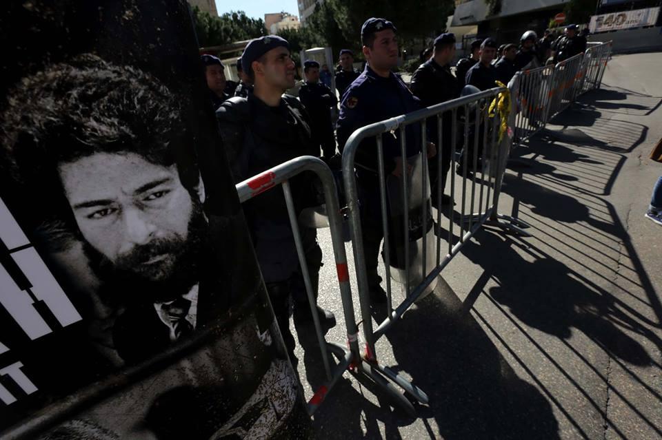 Rassemblement pour Georges Abdallah à Beyrouth