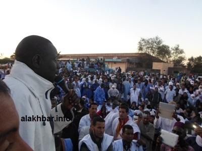 Meeting des grévistes de la SNIM