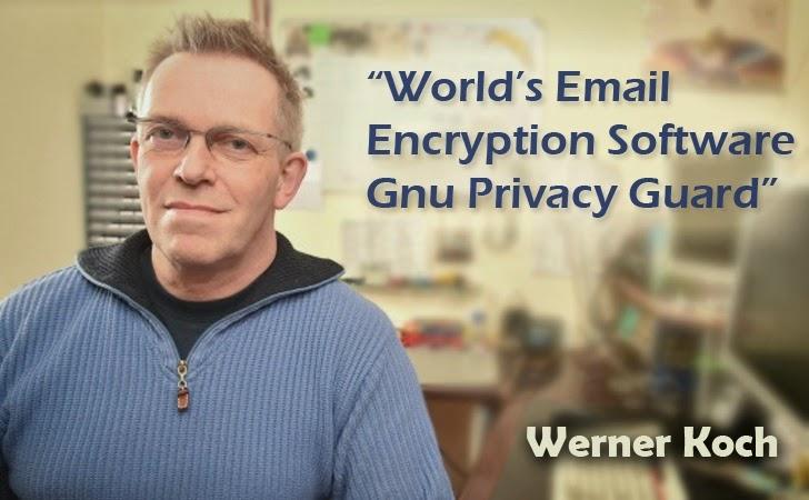 Werner Koch, le principal développeur de GnuPG.