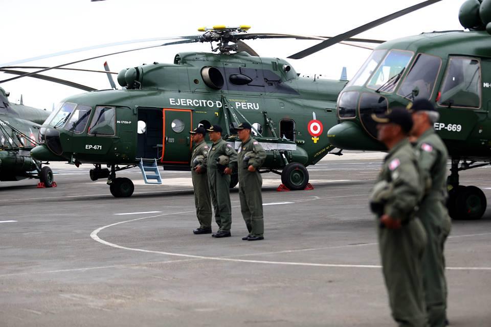 Hélicoptères Mi-171 péruviens