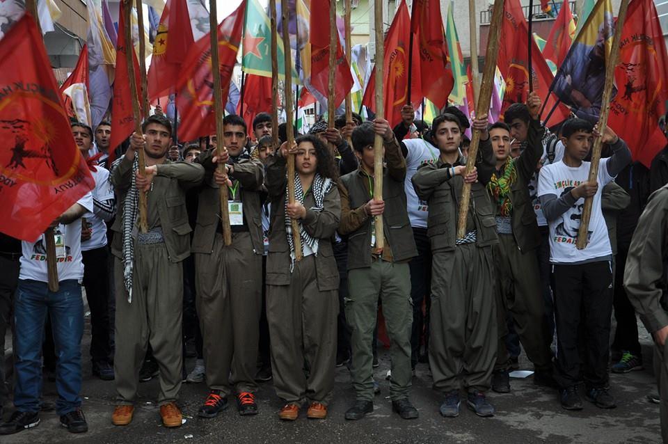 Marche des jeunes à Amed.