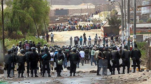 Un manifestant tué au Pérou.