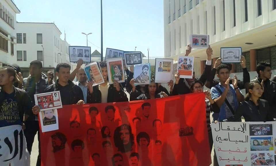 Rassemblement solidaire à Rabbat.