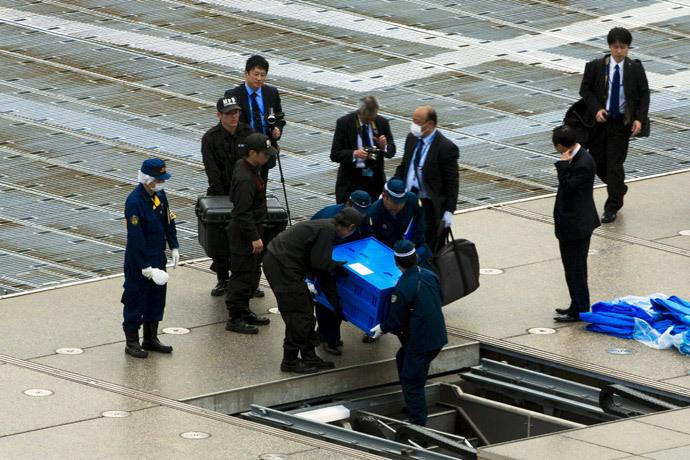 Un petit drone radioactif a été découvert ce mercredi sur le toit de la résidence du premier ministre japonais