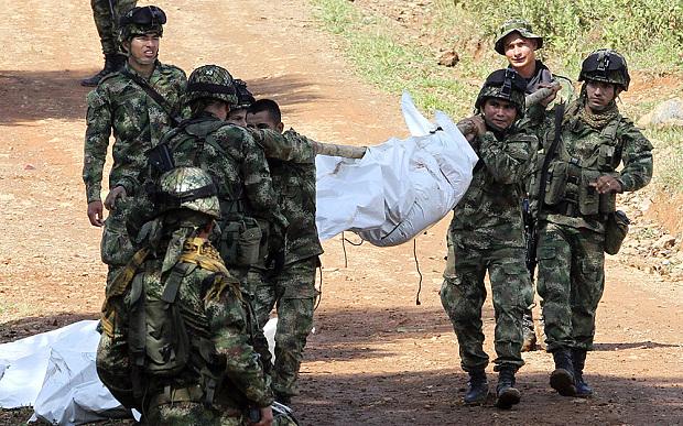 Une attaque des FARC contre une patrouille de l'armée s'est produite dans la nuit de mardi à mercredi à La Esperenza, un hameau de la province du Cauca, un des fiefs de la guérilla. Les militaires appartenant à la 3e division de l'armée ont été atttaqués àl'IED, à la grenade et à l'arme automatique. 11 militaires ont été tués et 19 blessés.