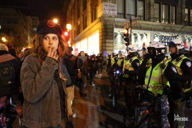 Incidents à la manifestation non-mixte anti-austérité