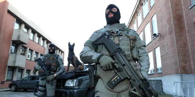 Membres des unités spéciales de la police fédérale