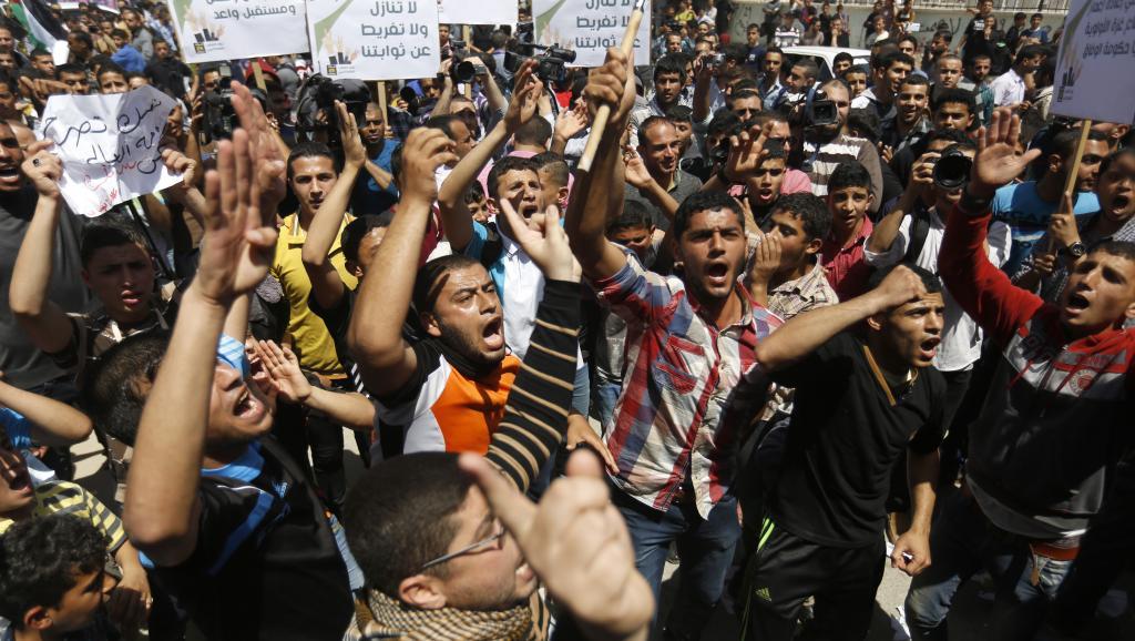 La manifestation du 29 avril à Gaza