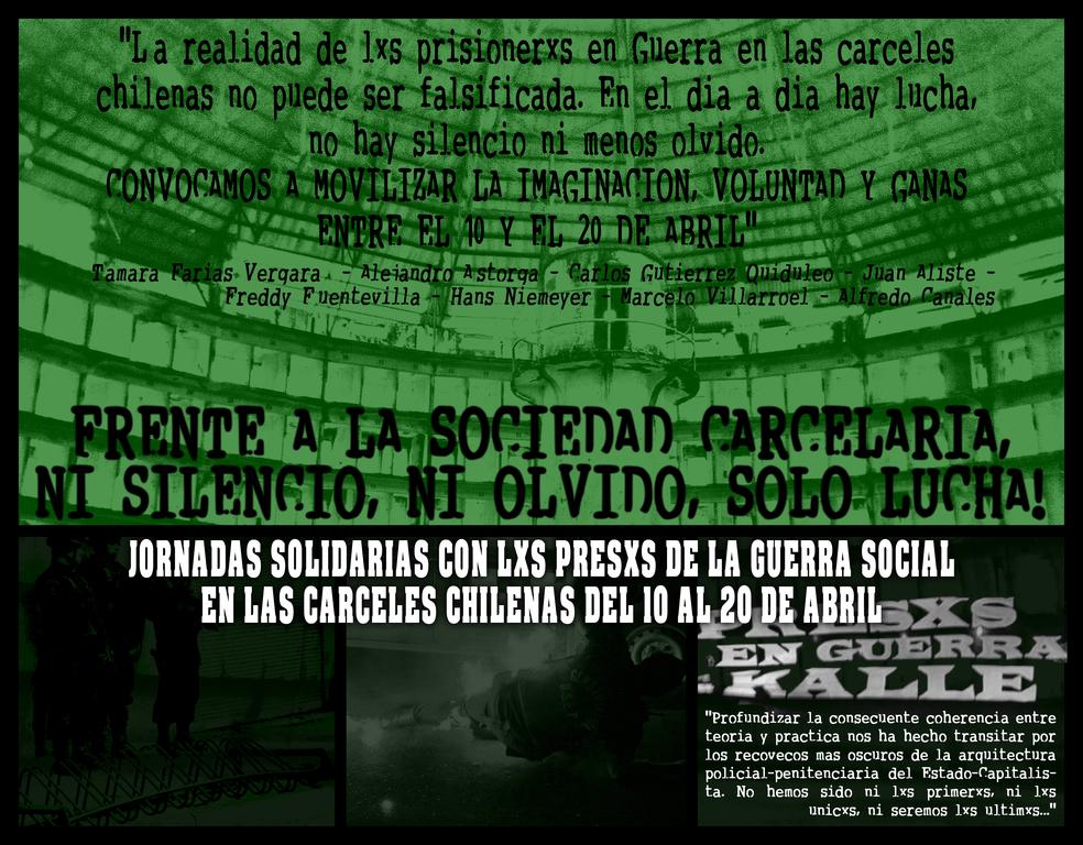 Journées d'action solidaires au Chili.