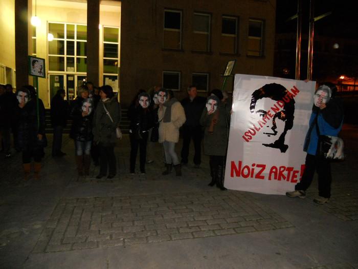 Rassemblement de soutien à Sergio Polo (2013)