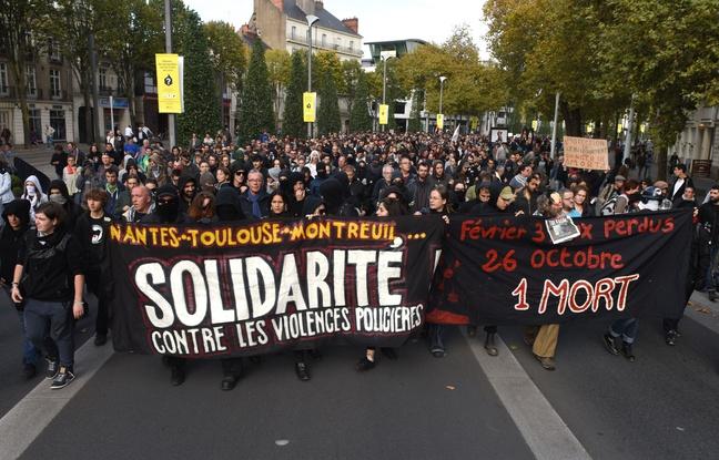 Manifestation hommage à Rémi Fraisse.