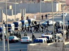 Répression des manifestants sahraouis dans la ville occupée d'El Ayoun