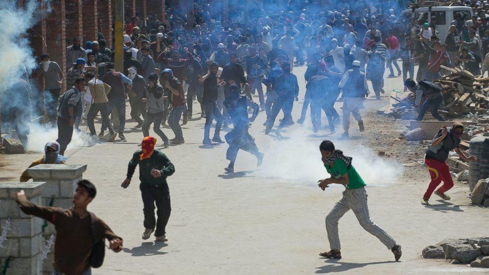 Affrontements au Cachemire