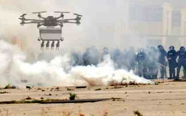 Drône anti-émeute