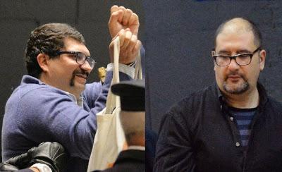 Alfredo Cospito et Nicola Gai
