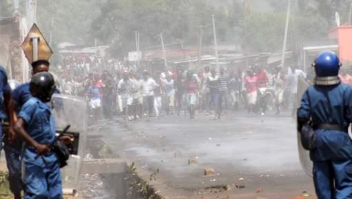 Manifestation lundi à Musaga