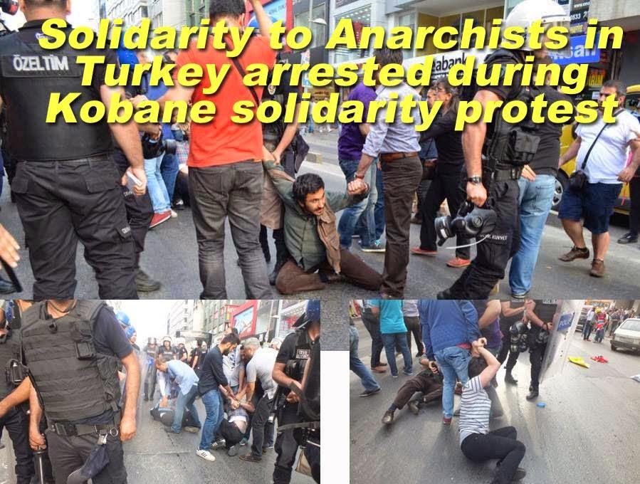 Arrestations à Istanbul.
