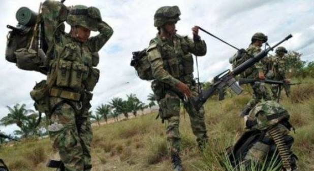 Opération anti-guérilla de l'armée colombienne