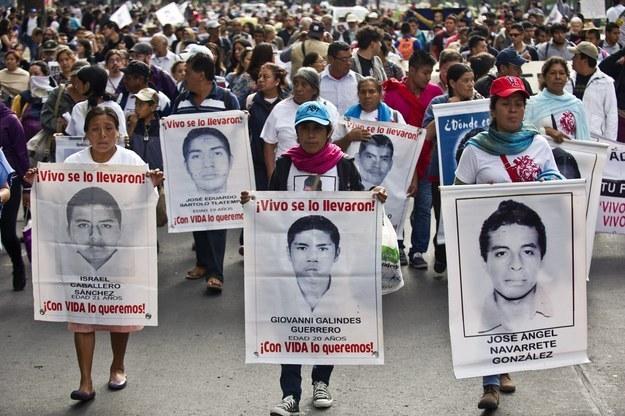 Manifestation pour les disparus d'Iguala