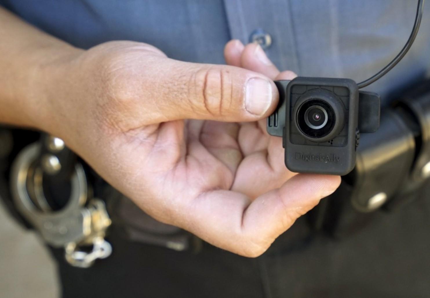 Mini-caméra équipant la police du Colorado