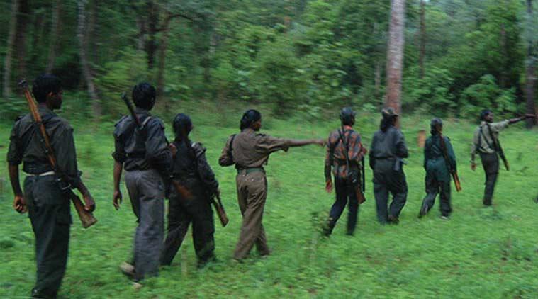 combattants maoïstes dans le Chhattisgarh