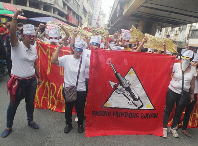 Manifestation de soutien à la NPA