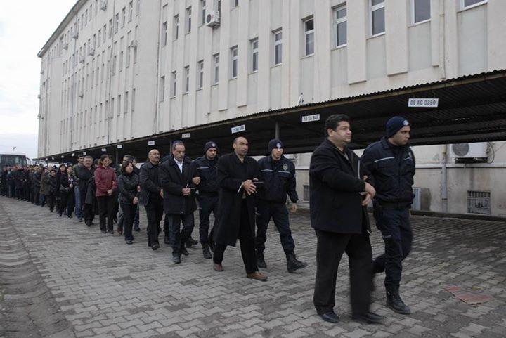 Procès contre les avocats d'Öcalan.