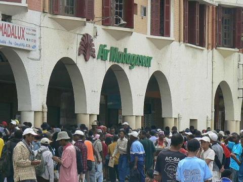 La grève à Air Madagascar