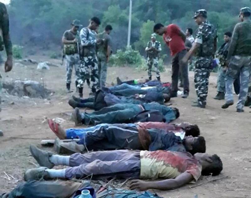 Personnes abattues par les forces de sécurité