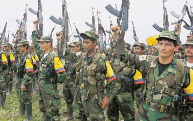 Combattants des FARC