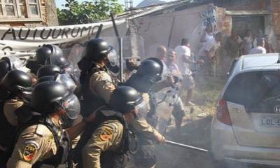 Tentative d'expulsion de la Vila Autódromo