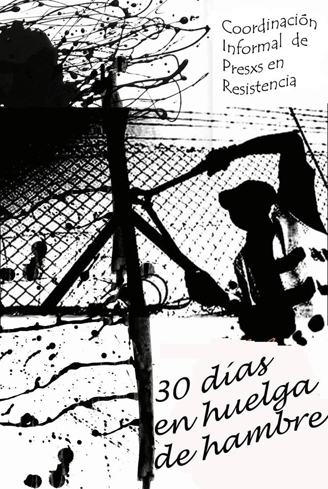 Coordination Informelle des Prisonniers en Résistance, 30 jours de grève de la faim.